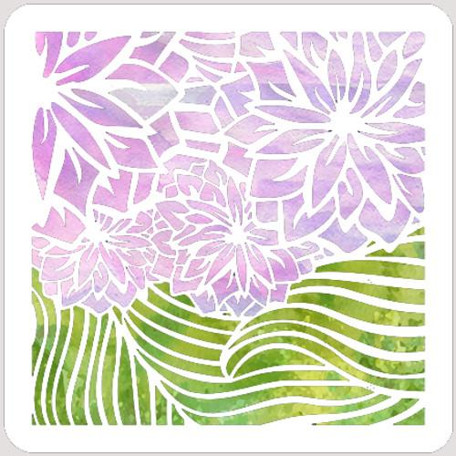 020161 - Wave Flower