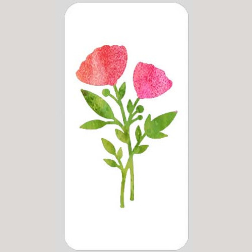 M20137 - Two Bloom Wildflower