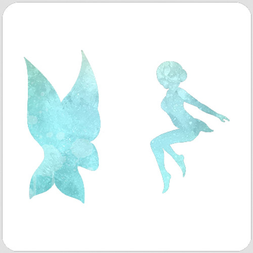 020205 - Winged Fairy Stencil