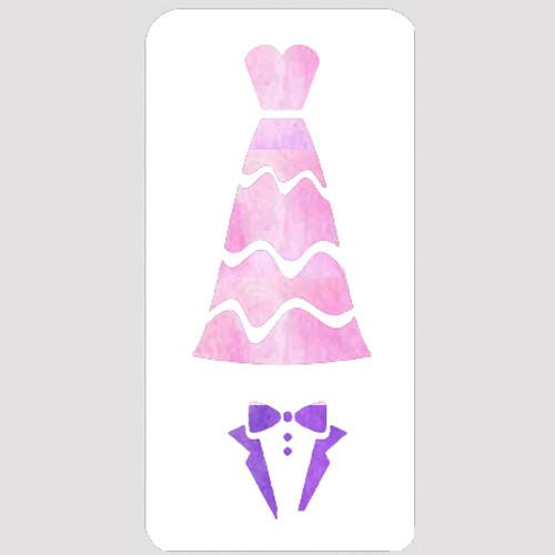 M20139 - Formal Wear Stencil