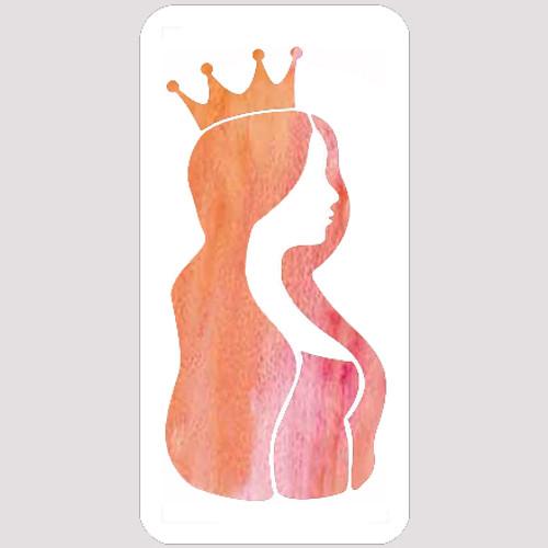 M20141 - Princess Profile Stencil