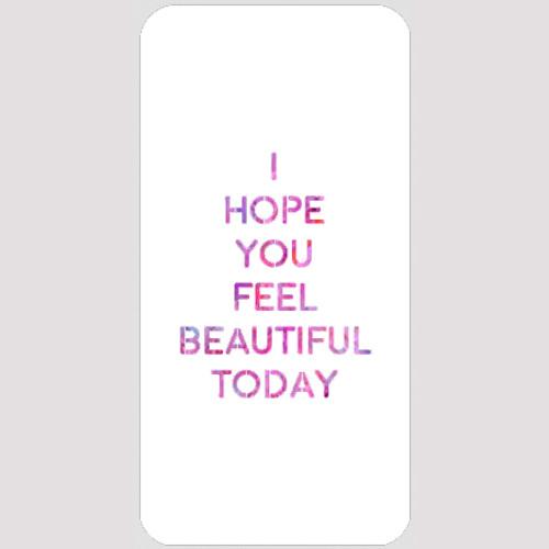 M20142 - Feel Beautiful Stencil