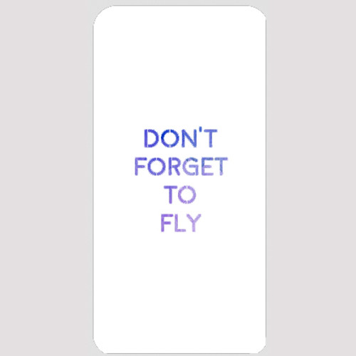 M20143 - Forget To Fly Stencil