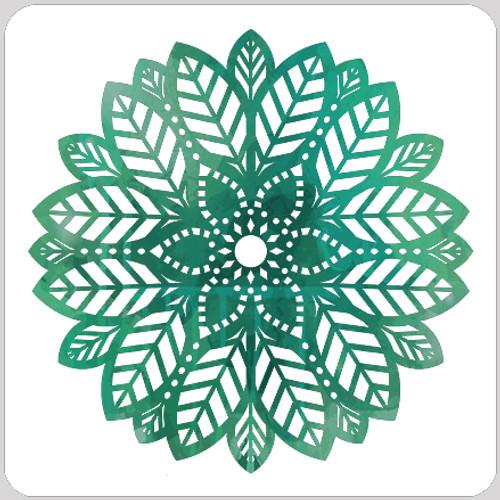 Leaf Doily Stencil