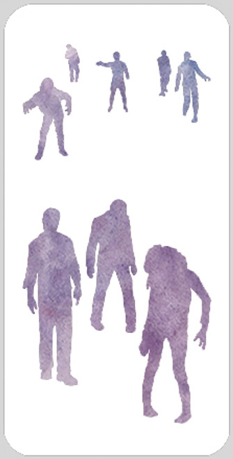 Zombie Crowd Maker Stencil