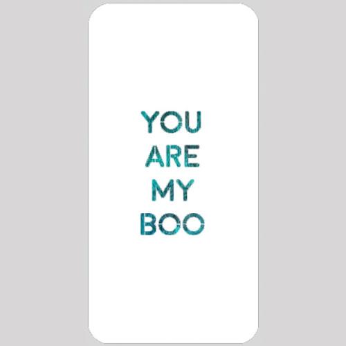 My Boo Stencil