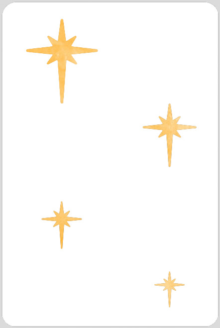 Guiding Star Set Stencil