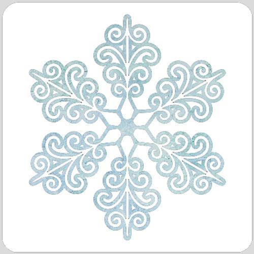Filigree Snowflake Stencil