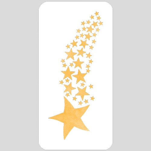 Star Stream Stencil
