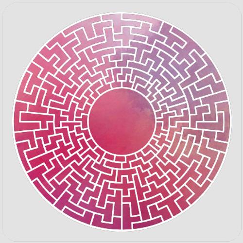 Maze Mandala Stencil