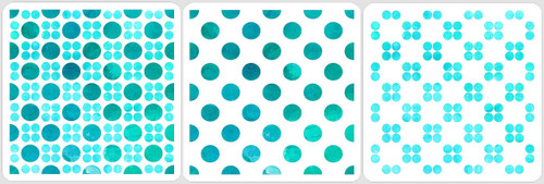 Layered Dots Stencil