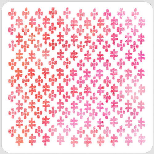 Double Cross Texture Stencil