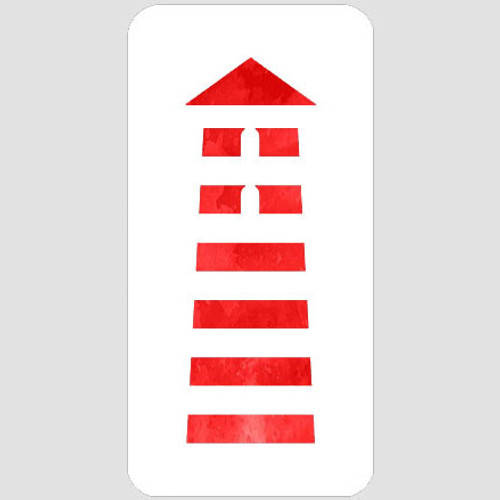 Lighthouse Stencil