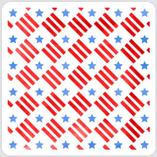 Layered Stars and Stripes Quilt