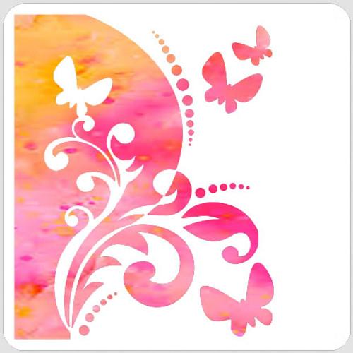 Split Butterfly Swirl
