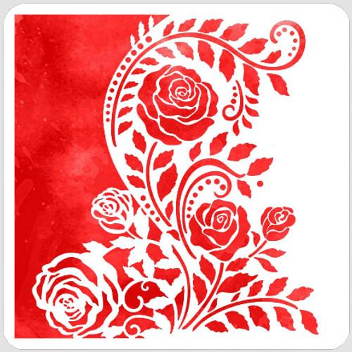 Split Rose Flourish