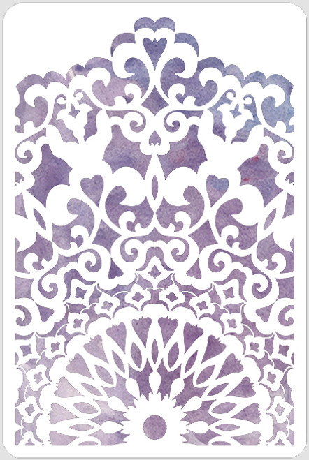 Lace Panel Stencil