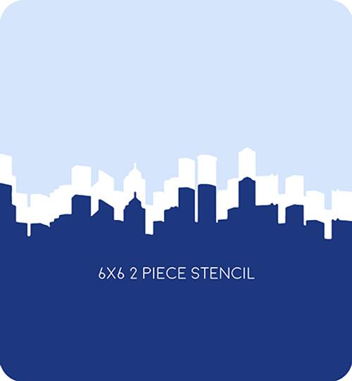 Skyline Edger 1 Stencil