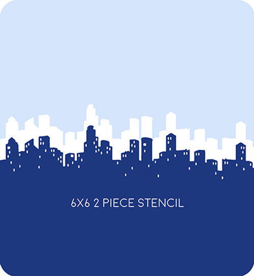 Skyline Edger 2 Stencil