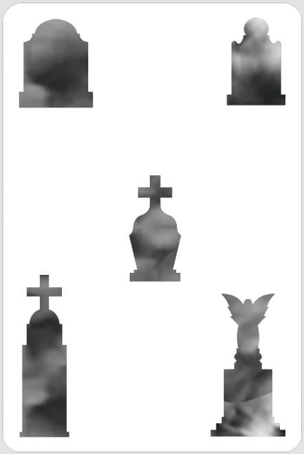 Tombstone Stencil