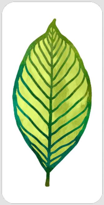 Layered Beech Leaf Stencil