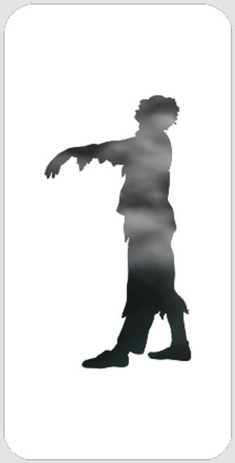 Side Zombie Stencil