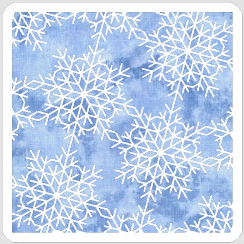 Delicate Snowflakes Stencil