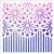 017181 - Striped Daisies