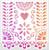 018190 - Papel Picado Heart