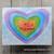 Marvelous Masks Scalloped Heart Stencil