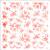Delicate Flowers Stencil