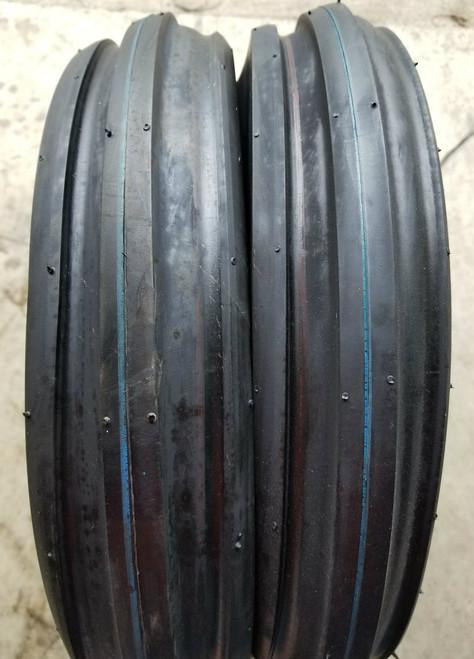 4.00-8 4P Deestone F-2 Tri Rib D401 (2 tires)