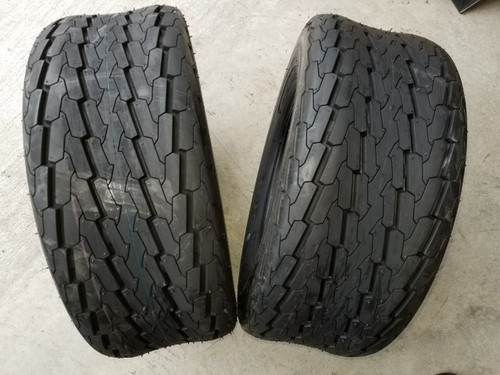 20.5X8.0-10 10 Ply Deestone D268 High Speed Trailer Tire (2 tires)