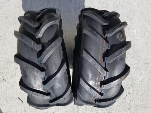 16X6.50-8 4P Deestone Super Lugs D407 (2 tires)