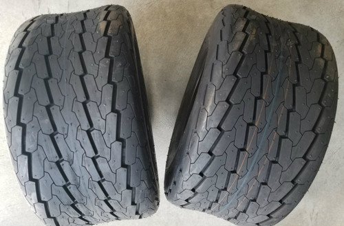 18.5x8.5-8 12 Ply Deestone D268 High Speed Trailer Tire (2 tires)