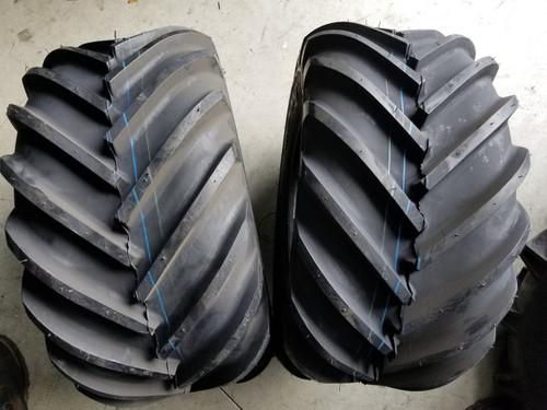 26x12.00-12 4P Deestone Super Lugs D405 (2 tires)