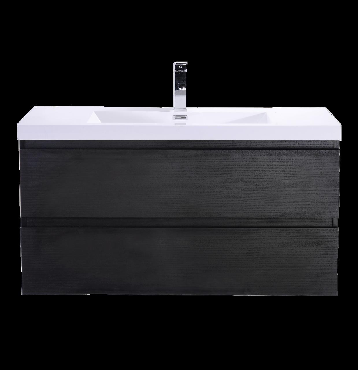 Bohemia 42 Mounted Modern Bathroom Vanity With Reinforced Acrylic Sink Tona Bathroom Vanity