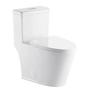 Stupendous One Piece Dual Flush Toilet W Soft Closing Seat Upc Lamtechconsult Wood Chair Design Ideas Lamtechconsultcom