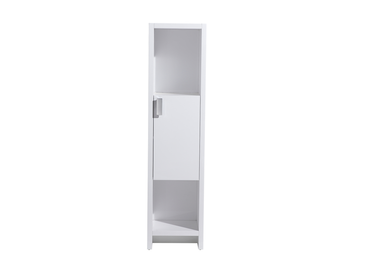 LEVI 16'' LINE CABINET IN GLOSSY WHITE