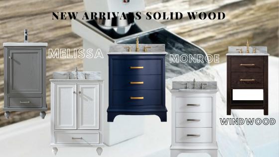 Real wood vanity, solid wood vanity, actual wood vanity, wood vanity, small vanity, elegant vanity,