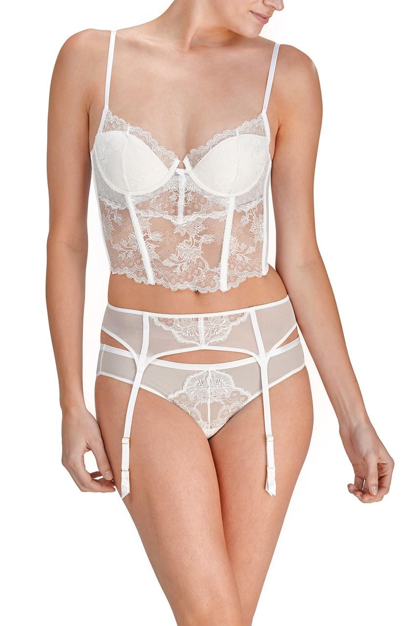 Josie Natori Chantilly Lace Bustier Style 171085 50991d16c
