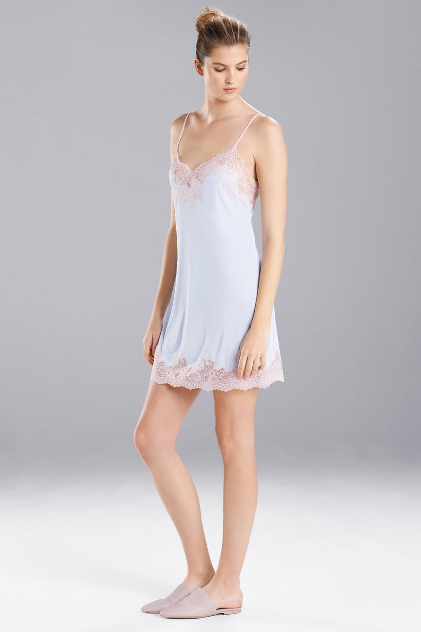 d3afe883b Natori Enchant Lace Trim Chemise Style R78130