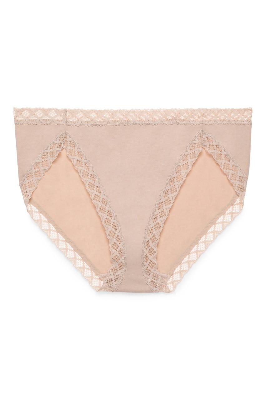 Natori Women/'s Bliss French Cut Panty Medium Hot Pink