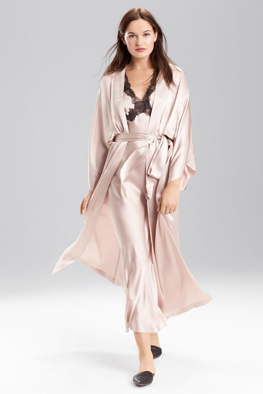 21b61bb139693 Josie Natori Key Kimono Robe Style X44004
