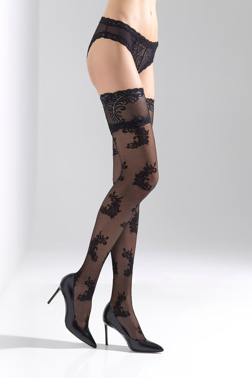 0f12a5989 Feathers Sheer Thigh Highs - The Natori Company