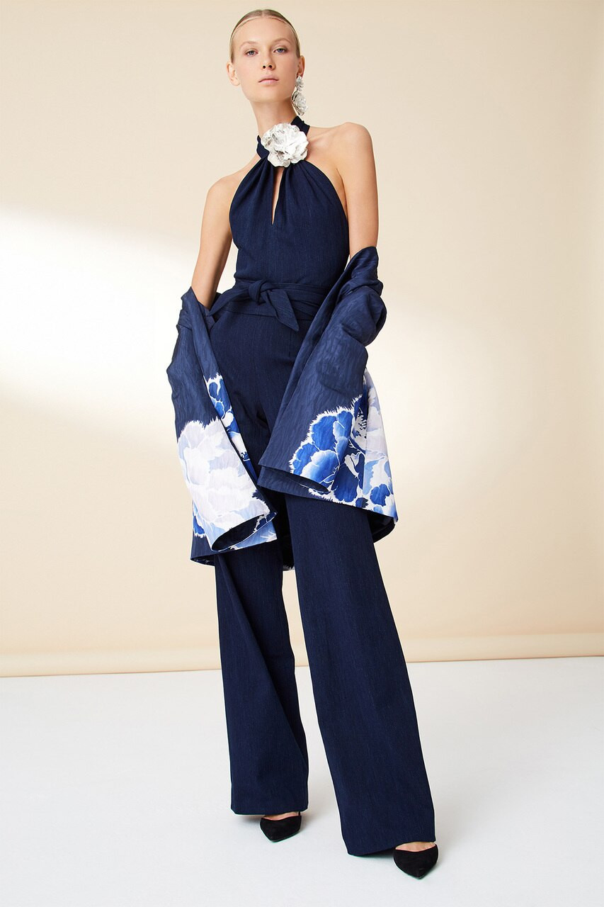 cb9e0d22a5a9 Denim Jumpsuit - The Natori Company