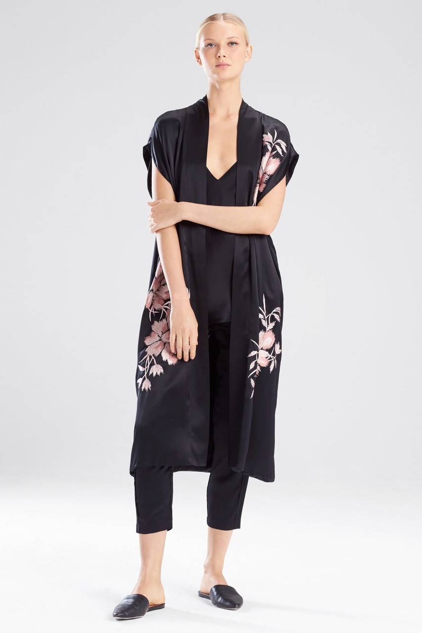 b71ec1ebbb Josie Natori Deco Embroidery Vest