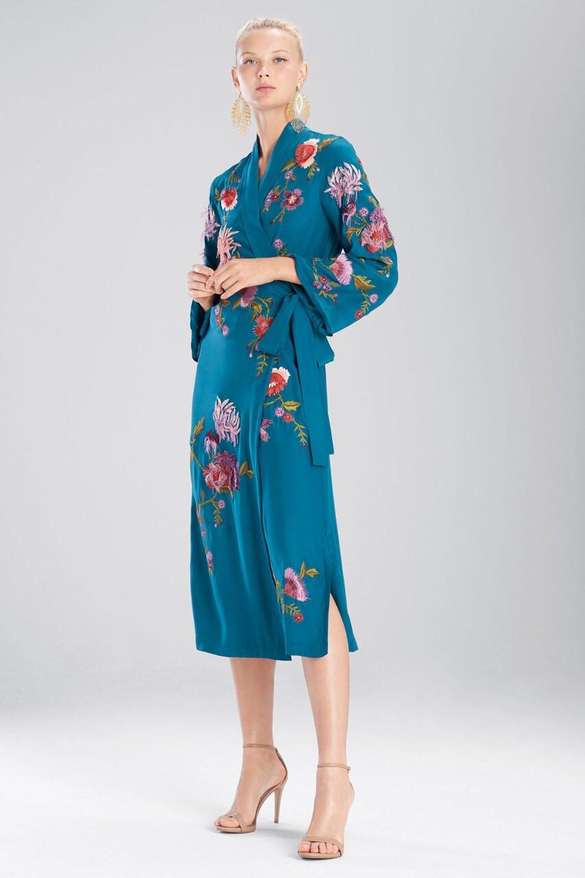 e33d3c712b Josie Natori Couture Fringe Floral Robe