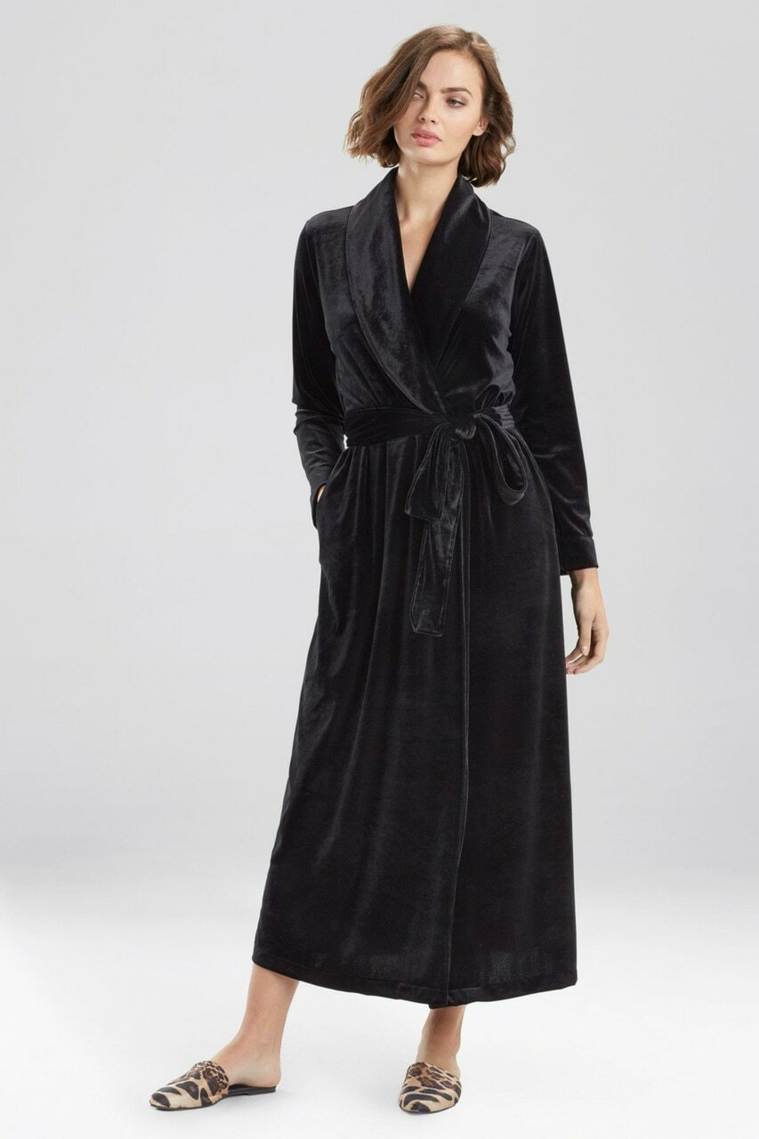 Natalie Velvet Robe