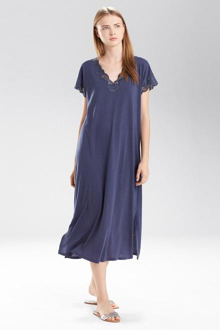 Natori Zen Floral T-Shirt Gown at The Natori Company